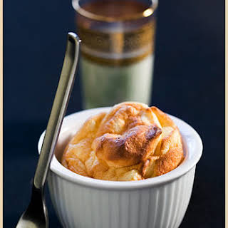Crab and Saffron Soufflé.