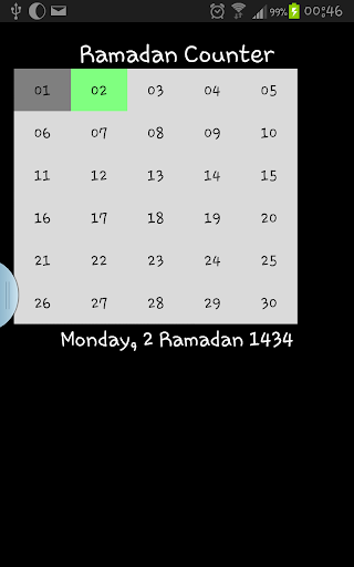 Ramadan Counter