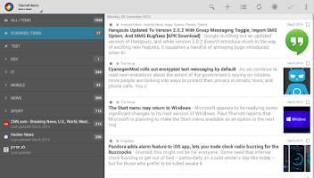 Screenshot of Tiny Tiny RSS | News+