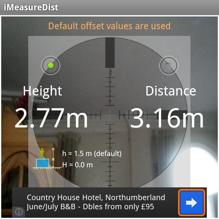 iMeasureDistLite - screenshot
