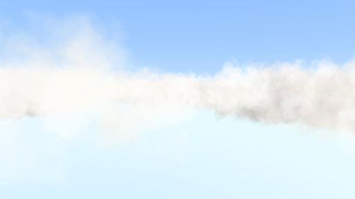 Flying Clouds VR Cardboard