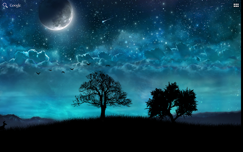 Dream Night Pro Live Wallpaper Imagen do Aplicativo