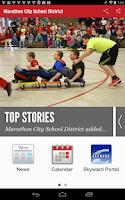 Screenshot of Marathon City School District