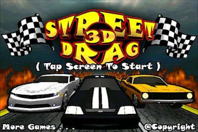 Street Drag 3D : Racing cars Screenshot 1
