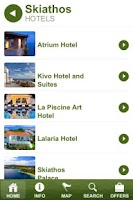 Screenshot of Skiathos Guide