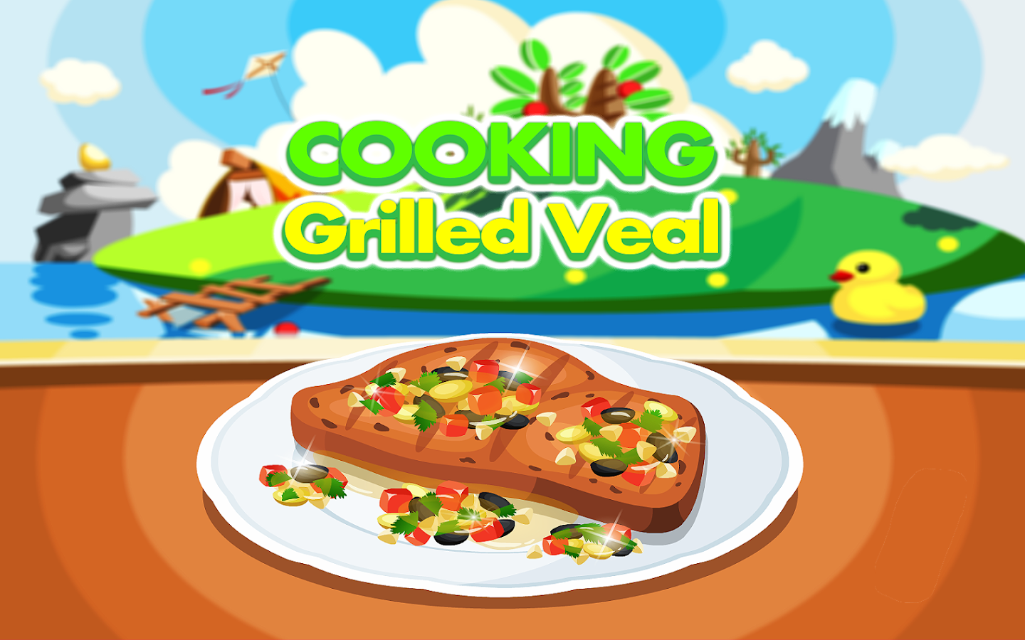 Cooking Grilled Veal- screenshot
