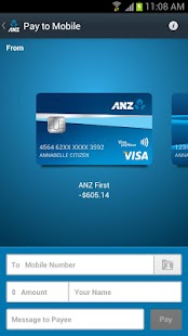ANZ goMoney Australia - screenshot thumbnail