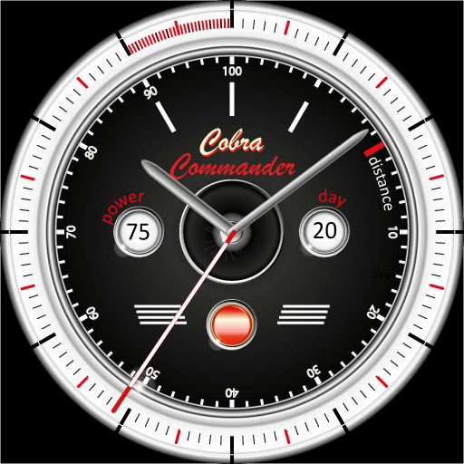 Cobra Commander Watchface Wear