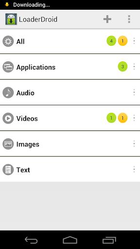 Loader Droid Pro para Android