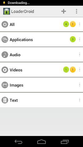 Screenshots for Loader Droid Pro License Key