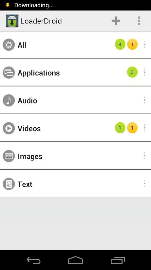 Loader Droid Pro License Key: captura de pantalla