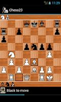 Screenshot of Chess23 - chess for winners