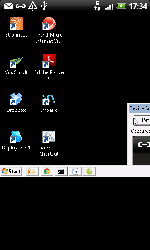 im Remote Desktop, RDP +- screenshot
