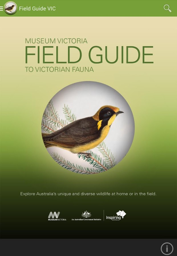 Field Guide to Victorian Fauna- screenshot