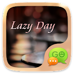 GO SMS LAZY DAY THEME Apk