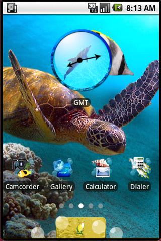 Sea: aHome Theme - screenshot