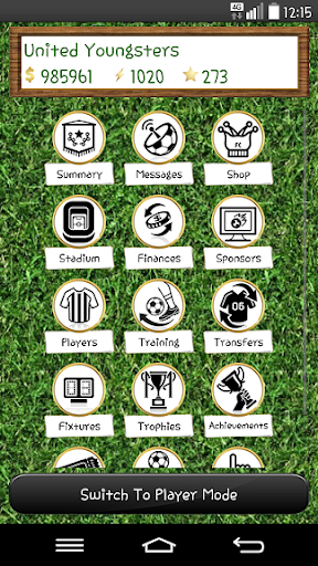 Soccer Player Manager Free