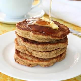 Walnut Flax Pancakes