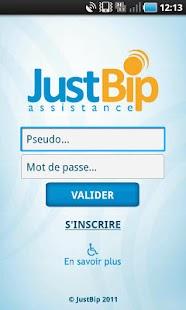 JustBip Assistance- screenshot thumbnail