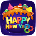 Sweet New Year Launcher Theme icon
