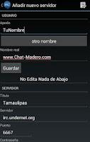 Screenshot of Chat Madero
