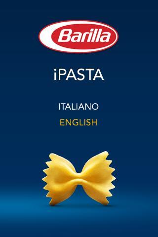 iPasta Barilla- screenshot
