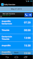 Screenshot of Prescription Manager Free