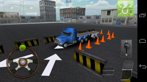 卡車停車3D