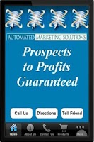 Screenshot of Automated Marketing Solutions