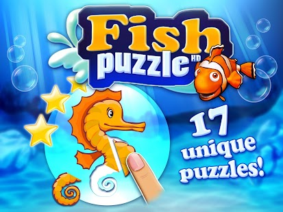 Fish puzzle HD for toddlers