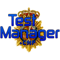 TestManager +Policia Nacional logo