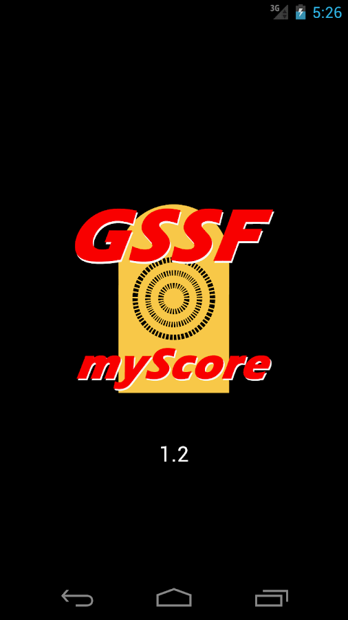 GSSF myScore- screenshot