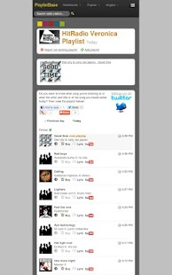 PlaylistBase- screenshot thumbnail