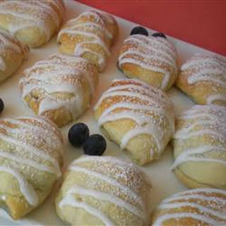 Blueberry Turnovers.