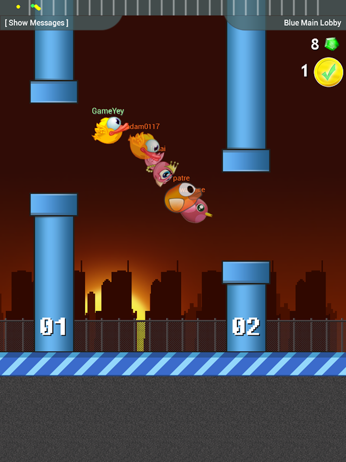 Flapping Birds - Online- screenshot