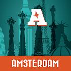 Amsterdam guía mapa offline icon