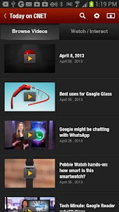 CNET Video+ - screenshot thumbnail