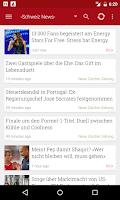 Screenshot of Schweiz News