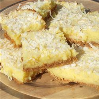 Graham Moist Lemon Bars