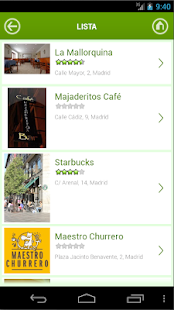 Madrid y Restaurantes - screenshot thumbnail