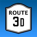 Route3D icon