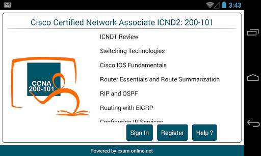 CCNA 200 101 Exam Online