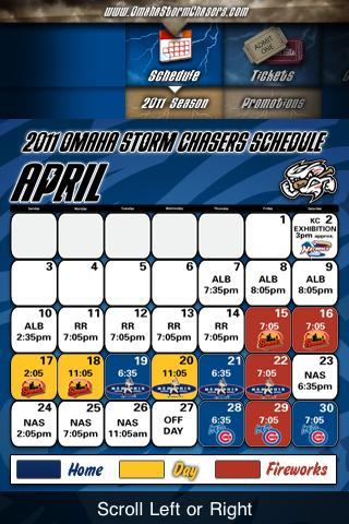 Omaha Storm Chasers - screenshot