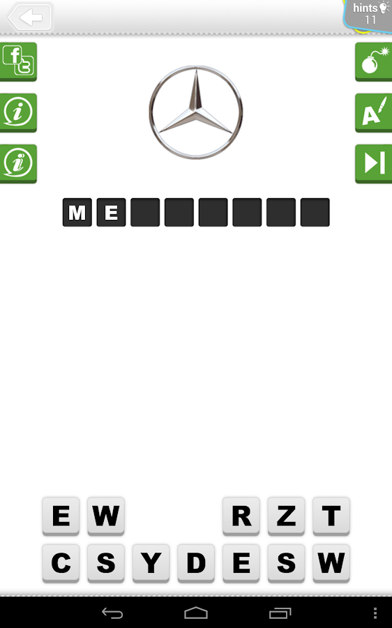 Logo Quiz - Cars - screenshot