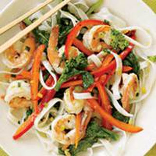 Shrimp & Noodle Stir-Fry.