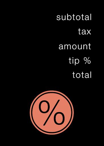 One Sum Tip Calculator