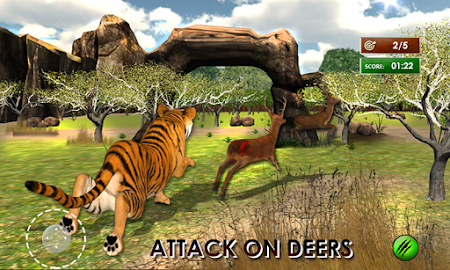 Wild Tiger Jungle Hunt 3D 1.7 screenshot 69923