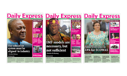 Daily Express Newspaper[Ghana] screenshot 2