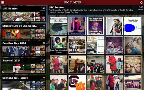 University of SC Sumter- screenshot thumbnail