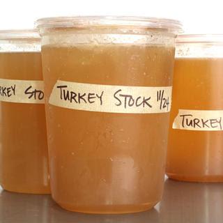 Basic Turkey Stock.